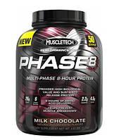 Протеины Многокомпонентные MuscleTech Phase8 2000 г  клубника