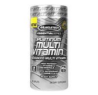 Витаминные и минеральные комплексы MuscleTech Platinum Multi Vitamin  90 caplets