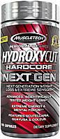 Жиросжигатели Muscletech  Hydroxycut Hardcore Next Gen 100 caps
