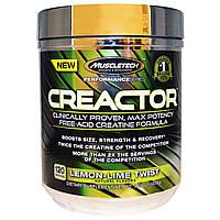Креатин с транспортной системой MuscleTech Creactor 220 g lemon-lime twist