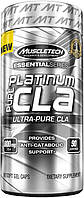 CLA - Конъюгированная линолевая к-та Muscletech Essential Platinum CLA 800 mg, 90 caps