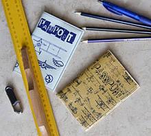 Обложки на паспорт, автодокументы, визитницы и другие изделия из прессованной кожи (эко-кожа)