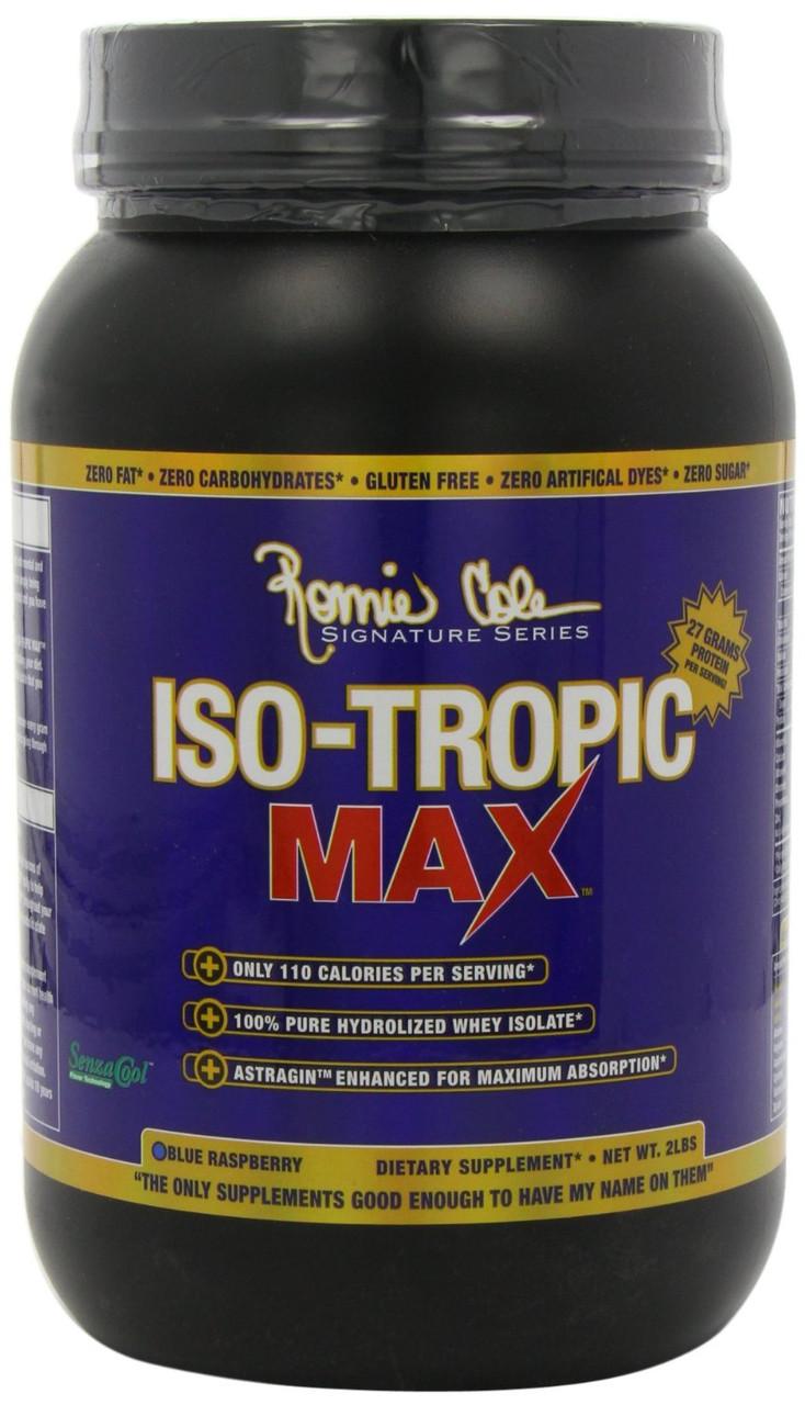 Протеины Изолят Ronnie Coleman ISO-Tropic MAX 878 g