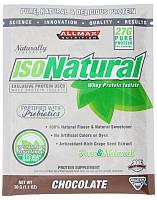 Протеины Изолят ALLMAX  IsoNatural Chocolate 30 g