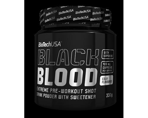ПРЕДТРЕНИРОВОЧНЫЕ КОМПЛЕКСЫ Biotech Black Blood 330 g