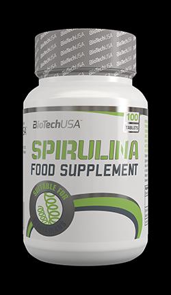 Витаминные и минеральные комплексы Biotech Spirulina 100 таблеток
