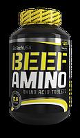 Аминокислотные комплексы BioTech Beef amino 120 таблеток