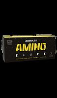 Аминокислотные комплексы BioTech Amino build elite 120 капсул