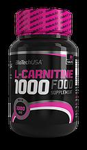 L-карнитин BioTech L-carnitine 1000 mg 60 таблеток