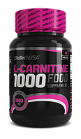 L-карнитин BioTech L-carnitine 1000 mg 30 таблеток