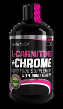 L-карнитин BioTech L-carnitine + chrome 500 мл