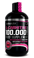 Карнитин, L-карнитин, L-Carnitine BioTech L-carnitine 100.000 liquid 500 мл
