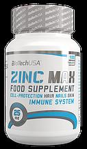 Минеральные комплексы BioTech Zinc max 100 таблеток