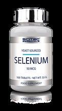 Витамины отдельные Scitec Essentials Selenium 100 tablets