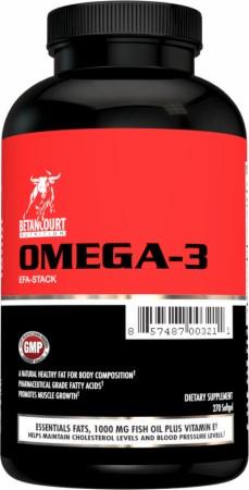 Рыбий жир Betancourt Nutrition Omega-3 efa-stack 270 капс