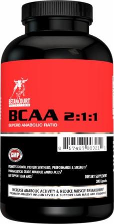 BCAA - Лейцин, Изолейцин, Валин Betancourt Nutrition Bcaa 2:1:1 300 капс