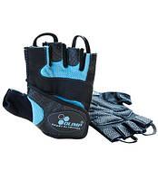 Перчатки спортивные, женские OLIMP Fitness Star  XL size blue