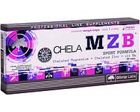 ZMA - Цинк, Магний, Витамин В6 OLIMP Chela MZB – ZMA 60 caps