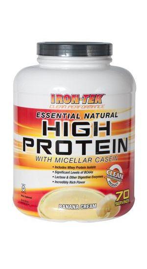 Протеины Многокомпонентные Iron-Tek Nutrition Essential natural protein 2,5 кг