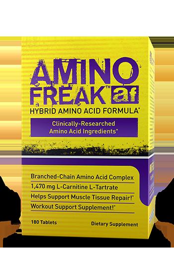 Аминокислотные комплексы Pharma Freak Amino Freak, 180 caps (60 serv)