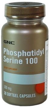 Витаминные и минеральные комплексы GNC PHOSPHATIDYL SERINE 100 30 caps