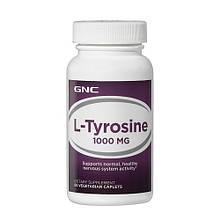Аминокислоты отдельные GNC L-TYROSINE 1000 60 caps