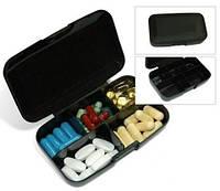 Таблетницы Buchsteiner  PILLMASTER Klikbox таблетница черная (Пластик)