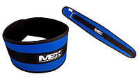 Атлетические пояса MEX Nutrition Fit-N Wide Belt Blue