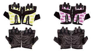Перчатки спортивные, женские MEX Nutrition Smart Zip Gloves Lime