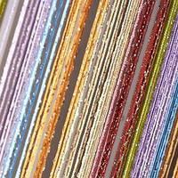 Штори нитки веселка дощ №104, фото 1