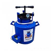 Автоклав электричекий домашний для консервирования 20 л на 16 поллитровых и 5 литровых банок