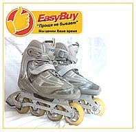 Роликовые коньки ролики 40р. 260мм. hy-skate детские и для взрослых роликовых коньков ролики, фото 1
