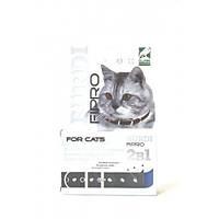 Ошейник декоративный Бурди фипро 2 в 1 для кошек ( з фіпронілом та прикрасами) 35см.