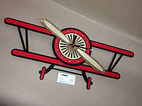 Часы Биплан / Biplane Wall Clock, фото 1