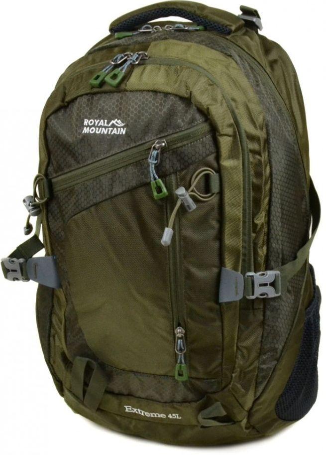 Зеленый туристический рюкзак Royal Mountain 8431 dark-green, 45 л.