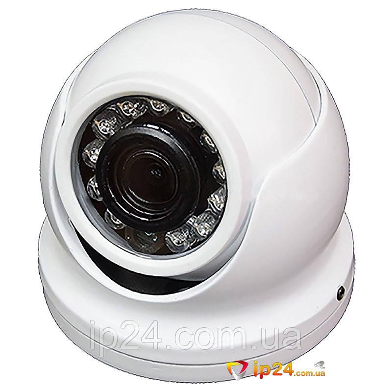 MHD-видеокамера купольная Atis AMVD-1MIR-10W/3.6