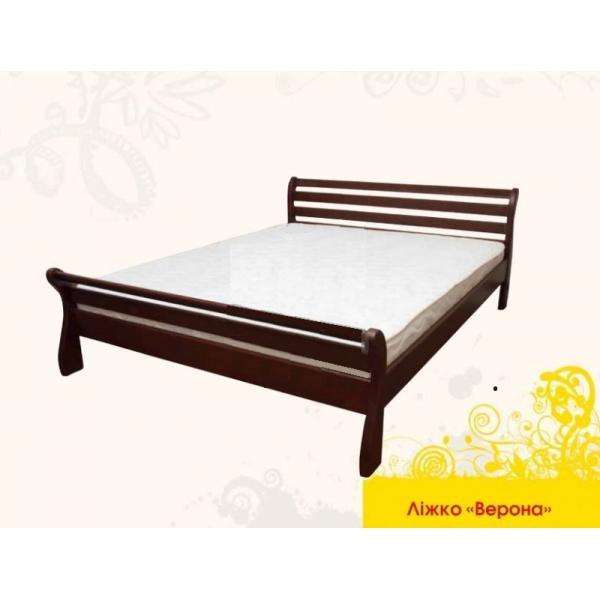 Ліжко дерев'яне Верона MebiGrand