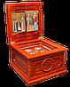 Ковчег деревянный для хранения святых мощей угодников Божиих.
