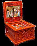 Ковчег деревянный для хранения святых мощей угодников Божиих., фото 1