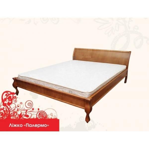 Ліжко дерев'яне Палермо MebiGrand