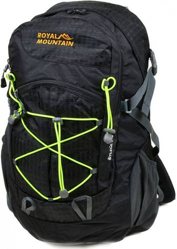 Черный туристический рюкзак Royal Mountain 8343-22 black, 28 л.