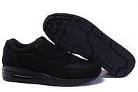 Кроссовки Nike Air Max 87 All Black, фото 1