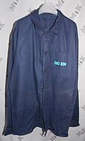 Куртка удлиненная рабочая с логотипом, ткань диагональ