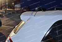 Спойлер Toyota Auris (спойлер на заднюю дверь Тойота Аурис козырек)