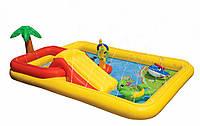 Надувной игровой центр для маленьких деток Intex Интекс