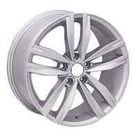 Литые диски Replica Audi (5037) R16 W7 PCD5x112 ET45 DIA57.1 (silver)
