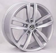 Литые диски Replica Volkswagen (5037) R17 W7.5 PCD5x112 ET45 DIA57.1 (silver)