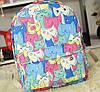 """Молодежный рюкзак """"Милые котики"""""""