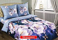 Комплект постельного белья двуспальный, поплин Мерцание
