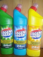 Средство для чистки унитаза Agent Max 1. 1л Агент Макс